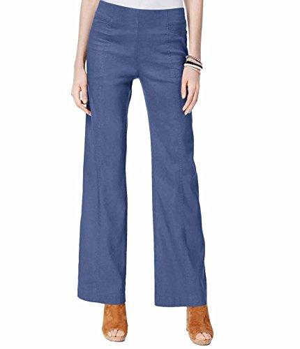 INC International Concepts Linen-Blend Wide-Leg (Wide Leg Linen Blend Pants)