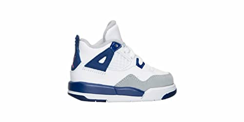 5d8cfa9689c1bd Jordan 4 Retro GT Girls Toddler Fashion-Sneakers 705345-132 2C - White Hyper