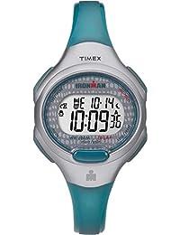 Timex Women's TW5M10100GP Sport Ironman Digital 10-Lap Grey and Blue