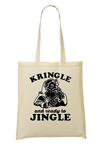 Kringle Ready To Jingle Bolso De Mano Bolsa De La Compra