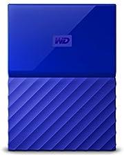 WD 2TB Blue My Passport Portable Hard Drive - USB3.0 - WDBYFT0020BBL-WESN