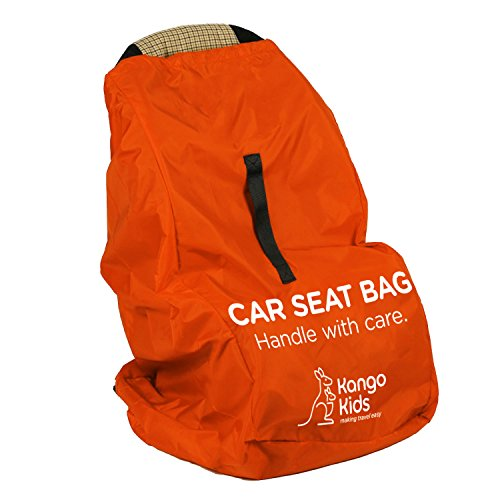 Car Seat Travel Bag - Make Travel Easier, Save Money and Protect your Child's Car Seat. Ultra Durable, Easy to Carry Padded Backpack and Compatible with Most Brands. Bonus Travel Accessory Strap! (Travel Seat Belt compare prices)