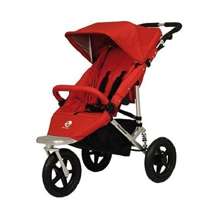 Easywalker Sky Plus - Silla de paseo (3 ruedas), color rojo