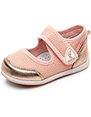 Ahannie Kids Toddler Girls Flats Sandals Shoes Baby Girls Breathable Lightweight Mesh Athletic Sneakers for Walking Running