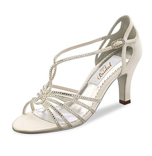 Sandales salomé ivoire