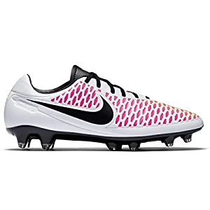 Nike Magista Orden FG Mens Football Boots 651329 Soccer Cleats Firm Ground (Uk 9 Us 10 Eu 44, White Black Pink Blast 106)