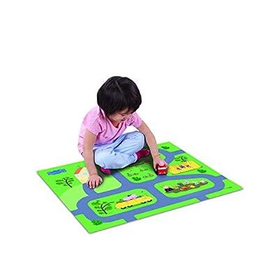 Peppa Pig Felt Megamat, Multicolor: Toys & Games