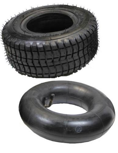 (9 x 3.50 - 4 Scooter Tire & Inner Tube Set for 43ccSuper Razorback, XT)