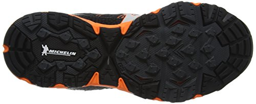 Mizuno Wave Een 11, Zapatillas de Running para Asfalto Hombre Negro (Dark Shadow/silver/clownfish)