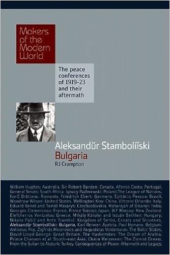 Aleksandur Stamboliiski: Bulgaria (Makers of the Modern World)