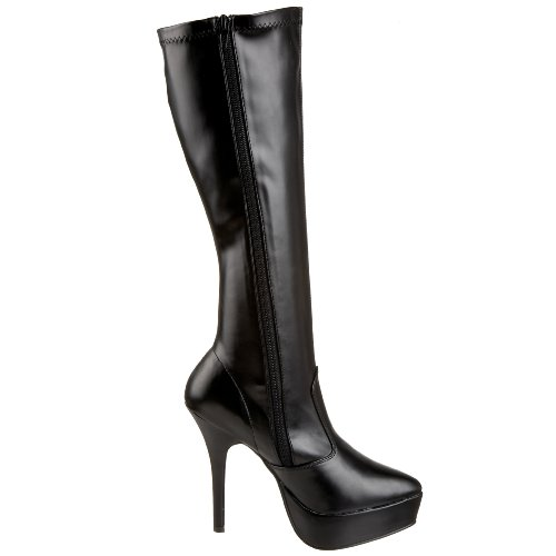 Pleaser 2000 Donna Klassischer Stiefel Indulge Nero rnxgprRqfw