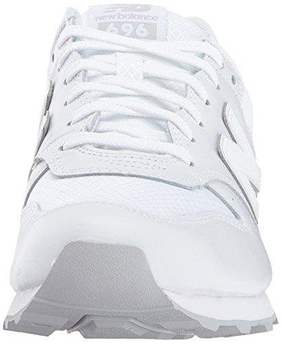 Nouveau Solde Femmes 696 V1 Sneaker White / Varsity Green