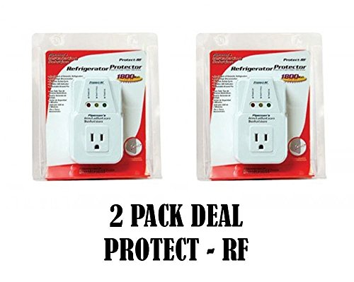 2 Pack Voltage Protector Brownout Surge Refrigerator 1800 Watts Appliance by Nippon America