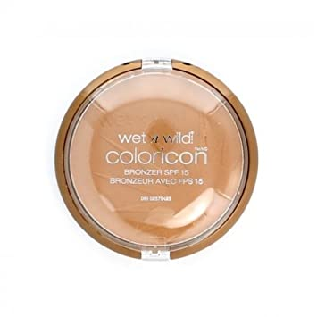 (3 Pack) WET N WILD Color Icon Bronzer SPF 15 - Ticket to Brazil