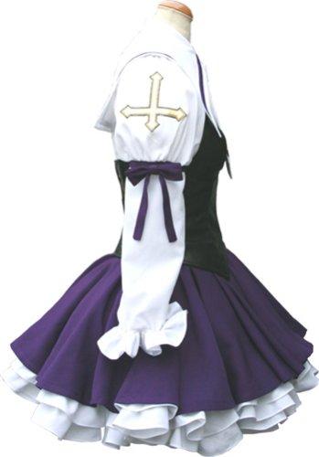 Saint October Hayama small ten Akino black Lolita cosplay costume women size L (japan import)