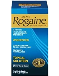 Rogaine Mens Extra Strength Unscented 2 oz - Pack of 9 (Packaging may vary)
