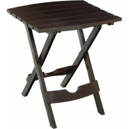 Adams Manufacturing Quik Fold Side Table Earth Ideal
