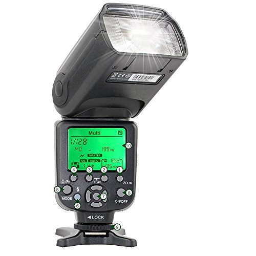 Zomei ZM580T Auto Focus TTL High Sync Speed Flash Speedlite for Nikon DSLR Camera