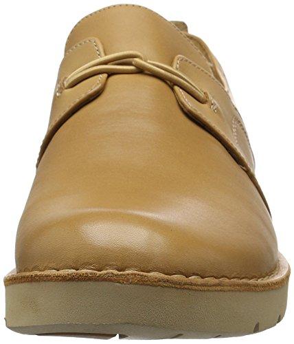 Clarks 261240274, Slip on Mujer Marrón (Light Tan Lea)