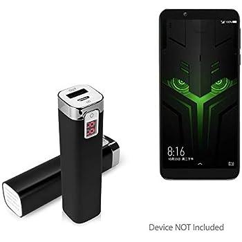 Amazon.com: Cargador de batería portátil para Xiaomi Black ...