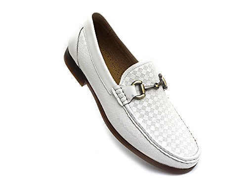 Buy mens white loafers size 14