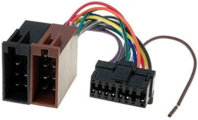 Sound Way Adapterkabel Iso Stecker Kompatibel Mit Autoradio Pioneer 16 Polig Auto