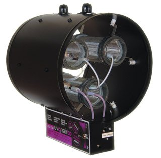 Uvonair 10 Inch CD-In-Line Duct Ozonator Corona Discharge with 1 cell