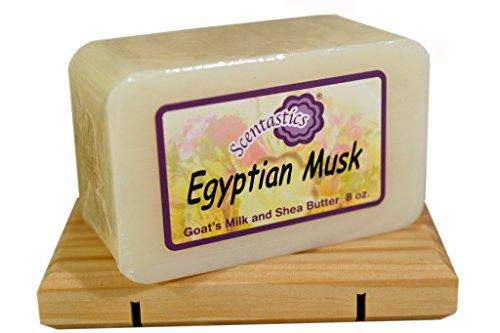 - Scentastics Goat's Milk & Shea Butter Egyptian Musk Soap (8 oz. bar)