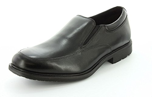 Rockport Men's Essential Details Water Proof SO Loafer-Black-10 W