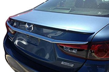 Factory Style Spoiler for the Mazda 6 Painted in the Factory Paint Code of Your Choice 537 45P with 3M tape included