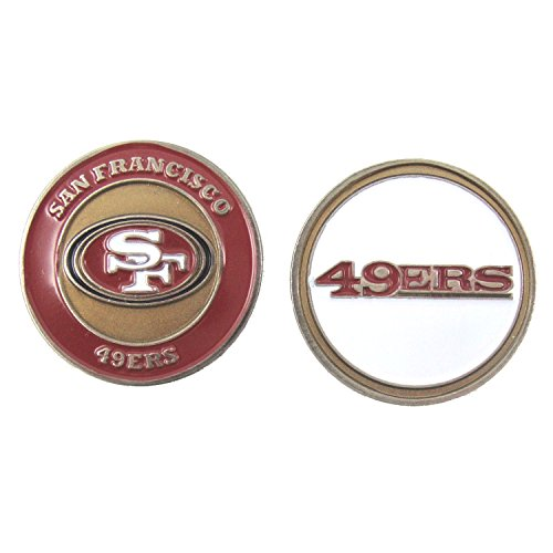 San Francisco 49ers Double-Sided Golf Ball Marker
