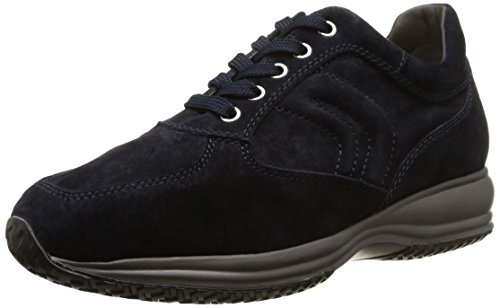 Geox Herren U Happy Art. Hommes Heureux D'art. H Low-top Marineblau Lo Top Bleu Marine