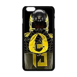Hard Plastic Case NFL oregon ducks Apple iPhone 6 Plus 5.5