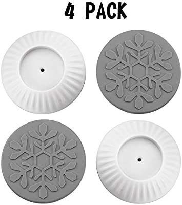 4 Pack Baby Gates Wall Cups Safety Wall Bumpers Guard Fit for Bottom of Gates,