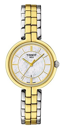 Tissot Flamingo Mother of Pearl Dial Ladies Watch T094.210.22.111.01