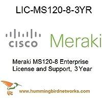 LIC-MS120-8-3YR Enterprise Meraki License for MS120-8 3 Year