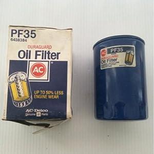 Oem Duraguard Oil Filter Ac Delco Pf35 6438384