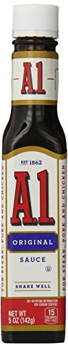A1 Original Meat Sauce 5 oz Bottle (Pork Sauce Steak)