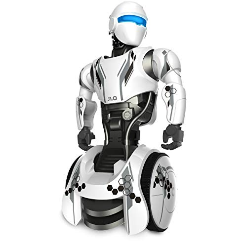 Sharper Image RC Humanoid OP One Robot, Cool Sci-Fi Android with Moving Arms and Gripping Hands, Dances, Plays, Performs, Spy Mode, Voice, Wireless Control, Full Directional Movement, Battery Power by Sharper Image (Image #4)