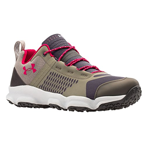 Under Armour Womens UA Speedfit Hike Low Charcoal / Stoneleigh Taupe / Fury 3RlLz