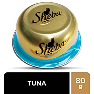 Sheba Tuna Cat Food - 80g