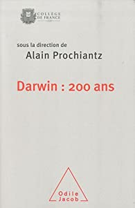 Book's Cover ofDarwin : 200 ans