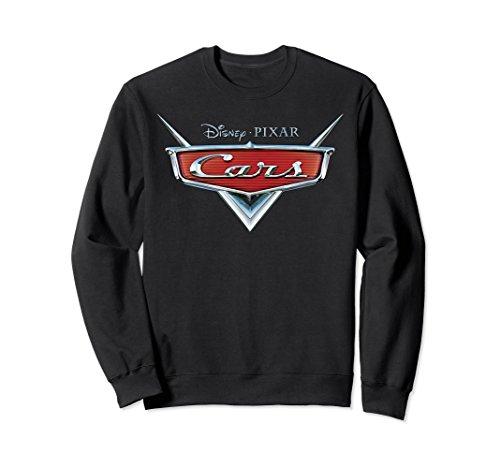 Unisex Disney Pixar Cars Official Grill Badge Logo Sweatshirt Large Black