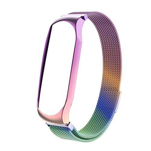 Steel Cut Out Lizard - Xindda for Xiaomi Mi Band 4 Watch Strap Milanese Magnetic Loop Wrist Strap Metal Watch Band