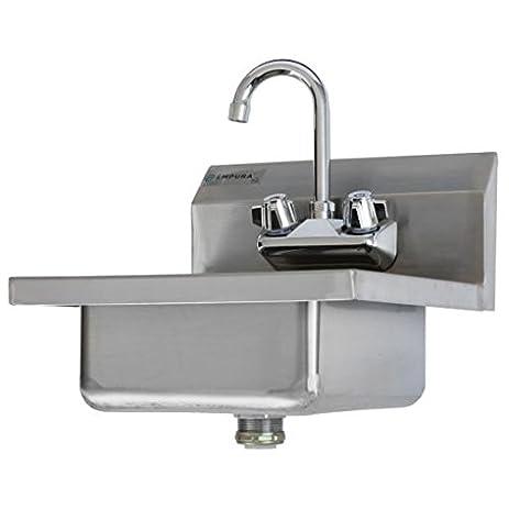 Gridmann Mercial Nsf Stainless Steel Sink Wall Mount Hand