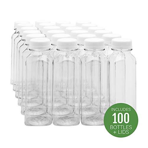 16-OZ Square Plastic Juice