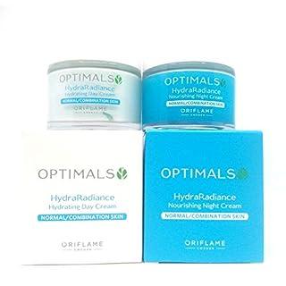 ORIFLAME Optimals Hydra Radiance Day Cream + Night Cream For Normal/Combination Skin