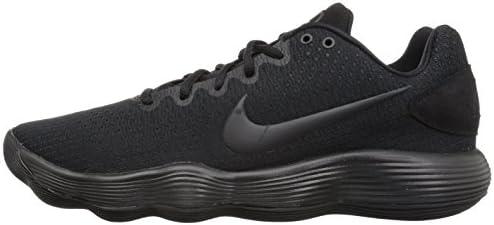 online retailer b11ac 10687 Nike Mens React Hyperdunk 2017 Low Basketball Shoes Black Dark Grey Black  897663-. Loading images.