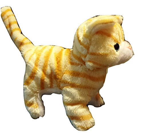 My Pet Cute (Cute Kitty – My lovely Pet – Meows, Curls its tail, Walks - Battery Operated Little Cat Toy)