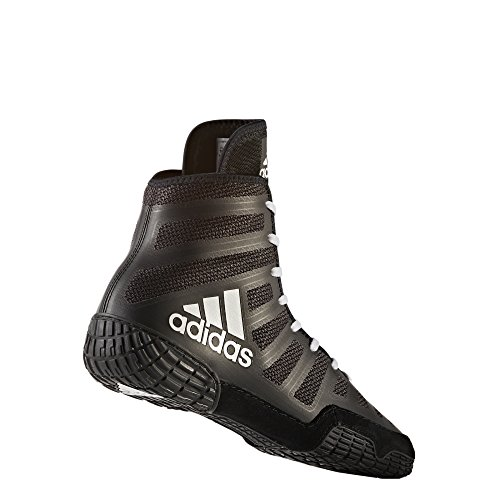 adidas Adizero Wrestling XIV Wrestling Shoes - Black/White/Black - Mens - 11